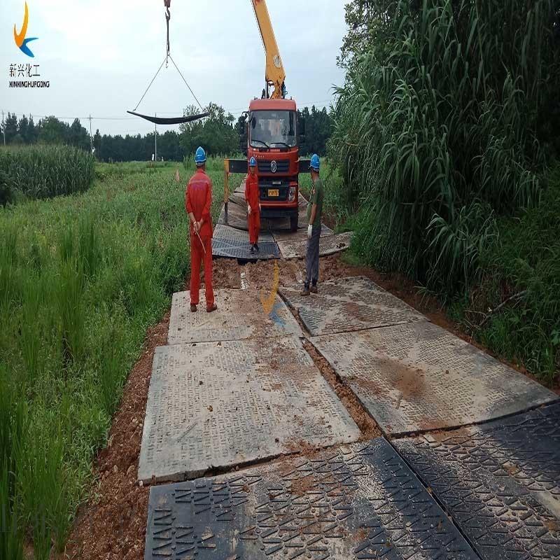 防滑不陷車地面鋪路墊板工廠可定做