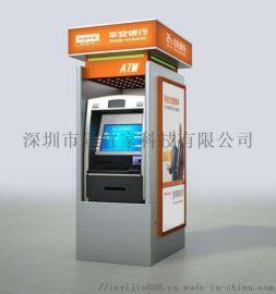 厂家定制生产银行大堂式银亭ATM机防护罩