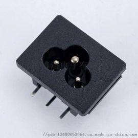 供應梅花型插座 C6電源插座 米老鼠插座
