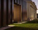 外墙冲孔幕墙装饰铝板华丽的线条