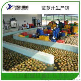 浓缩菠萝汁生产线 菠萝汁饮料加工生产设备