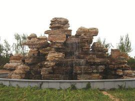 水泥塑山施工,古建园林(在线咨询),潍坊水泥塑山