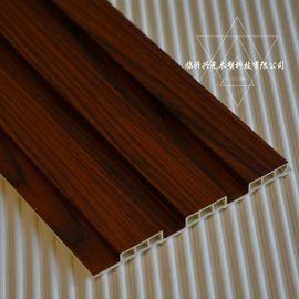 195生态木装饰板 195包覆大长城 护墙板