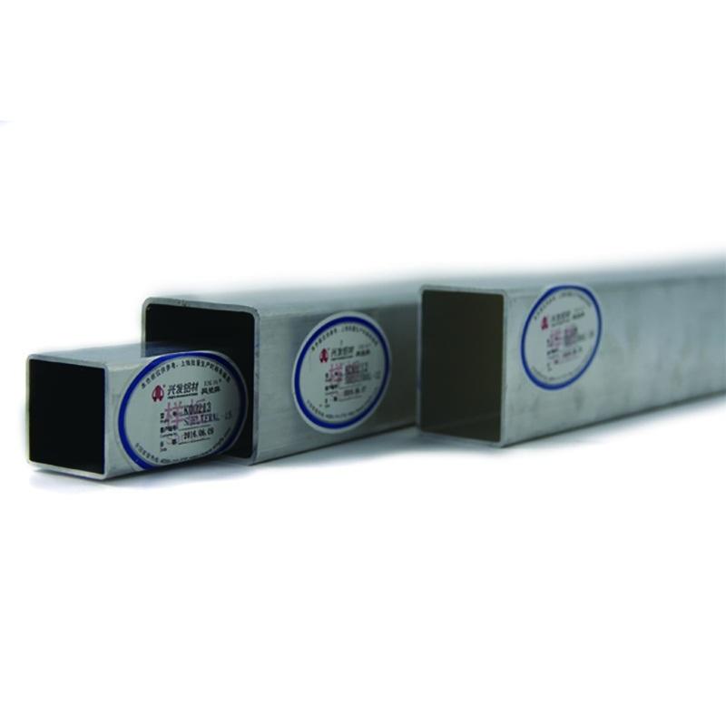 广东兴发铝材厂家直销铝矩管6063铝合金