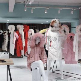 大码女装专柜连衣裙品牌折扣女装走份直播货源批发