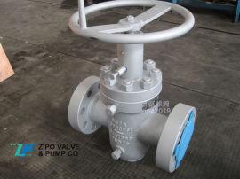 自贡石油开采专用高压井口阀美标API6A平板闸阀