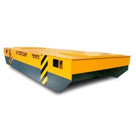 汽车配件重型轨道车无轨地爬车15吨无轨电动转运平车