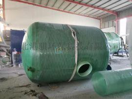 玻璃钢水罐安装方案-港骐