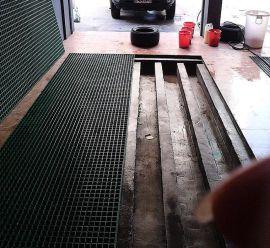 供应广特洗车房钢格板