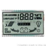 厂家定制生产太阳能转换器液晶屏 段码lcd显示屏