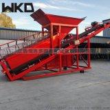 供應大型滾筒篩沙機 可移動式砂石分選機設備