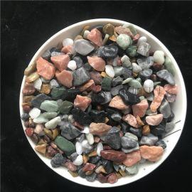 供应水磨石石子 建筑石子 园林造景用彩色石子