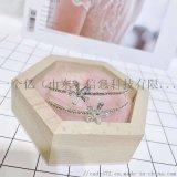 櫸木首飾包裝盒耳釘飾品禮品收納盒