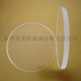 高强度超硬6mm圆形钢化玻璃
