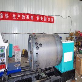 圆管相贯线钢结构切割机 数控等离子管切割机厂家