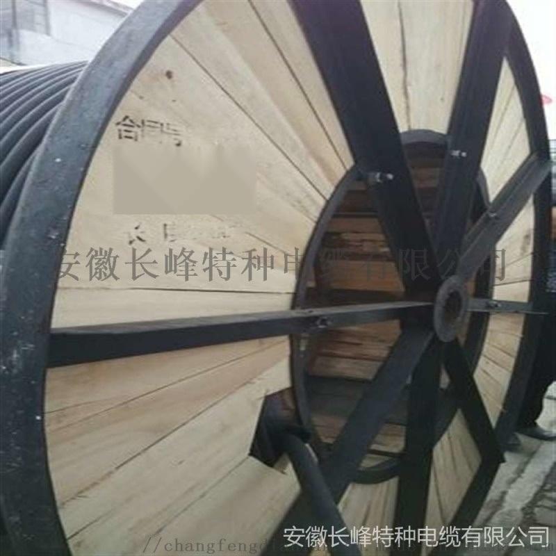 安徽长峰足铜足米扁电缆JHSB/3*95防水电缆