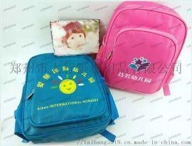 山东烟台儿童书包加印彩色logo幼儿园小学培训机构