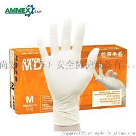 一次性手套乳膠手套醫用橡膠檢查手套
