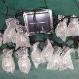 太陽能燈串,景觀燈串,帶導光柱球泡燈串