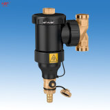 九菲微泡排气除污装置(阻垢侠)在暖气、地暖中的应用