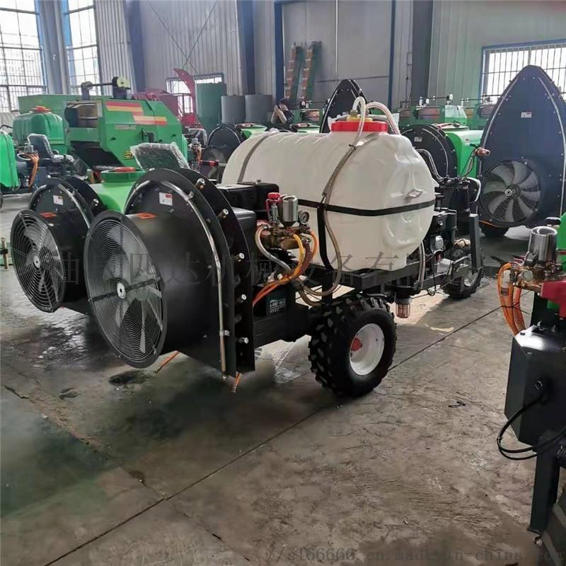 三轮自走式打药机,农用风送打药机圣隆供应