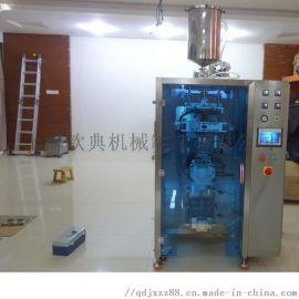 自动定量灌装铝膜袋化妆品液体包装机 立式包装机厂家