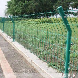 长春养殖双边丝护栏网 框架铁路隔离护栏网