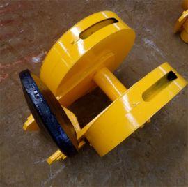 加工定制高质量32T起重机吊钩 铸钢滑轮 本地钩头