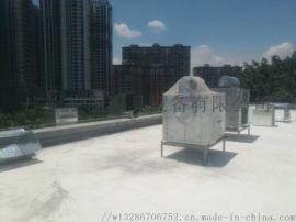 深圳市环保白铁通风工程安装排烟管道系统