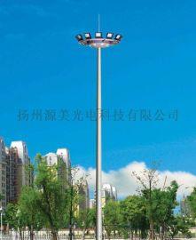 球场灯15米8火200w中杆灯全套广场照明灯无升降
