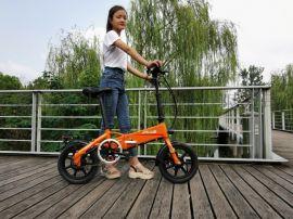 新型折叠锂电助力自行车