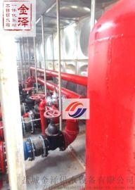 地埋式消防一体化供水设备的优点