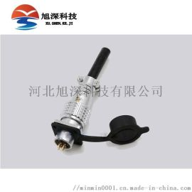 宁波重强P12F-2K至8K对接式母插头螺纹连接器