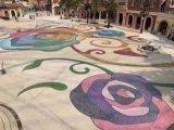 洗砂藝術地坪,廣東洗砂藝術地坪是怎麼做的