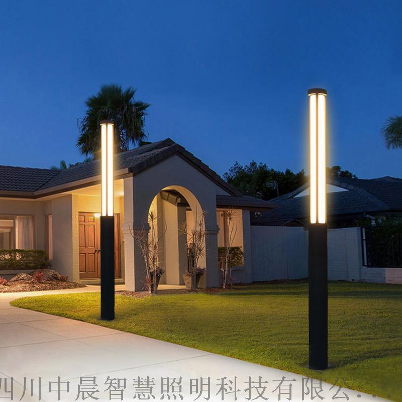 方形不鏽鋼景觀燈戶外 道路造型景觀燈