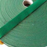 绿绒带 背胶绿绒包辊布
