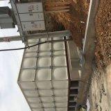 生产焊接式铁皮水箱热镀锌工地用模块水箱