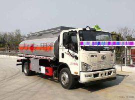 国六9.5吨汽油介质运油车