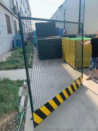专业定制球场围栏网操场体育场护栏网小区安全防护栏足球场勾花网