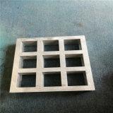 复古格子镂空铝花窗 华府覆膜铝花格定制