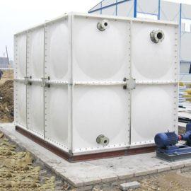 玻璃钢饮用水水箱聚氨酯保温水箱