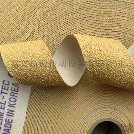 磨毛机用进口糙面带 糙面橡胶 包辊带