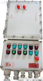 户外防爆配电箱10回路带总开关IIC级防爆箱