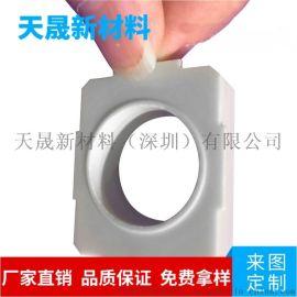 厂家定做大功率氮化铝陶瓷 电源模组绝缘散热陶瓷