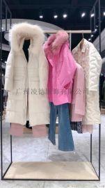 秋熠2020冬装棉服羽绒服大衣厂家品牌专柜**
