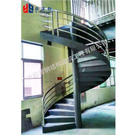 钢结构楼梯,钢结构旋转楼梯定制
