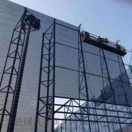 防风抑尘金属网定制料场煤场圆孔防风抑尘网