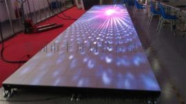 led地砖屏3d动态地板感应水地面舞台led显示屏