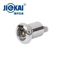 JK613 三角形圆柱锁 锌合金锁 电梯层门锁