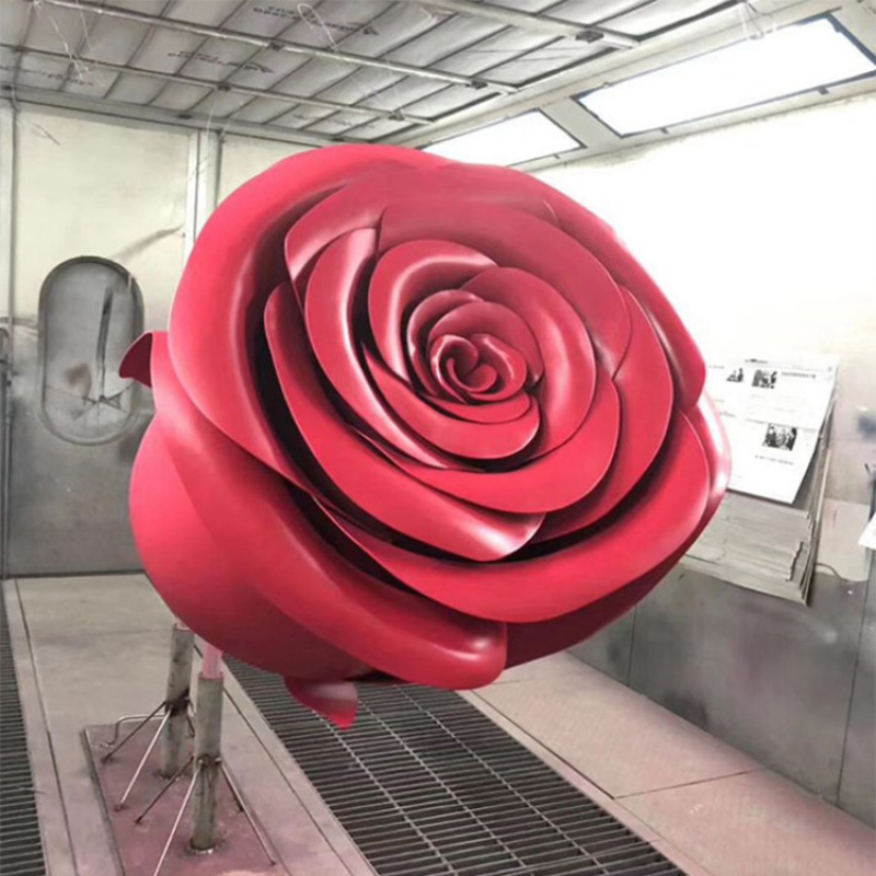 玫瑰花造型双曲面铝单板装饰材料厂家定制弧形铝板